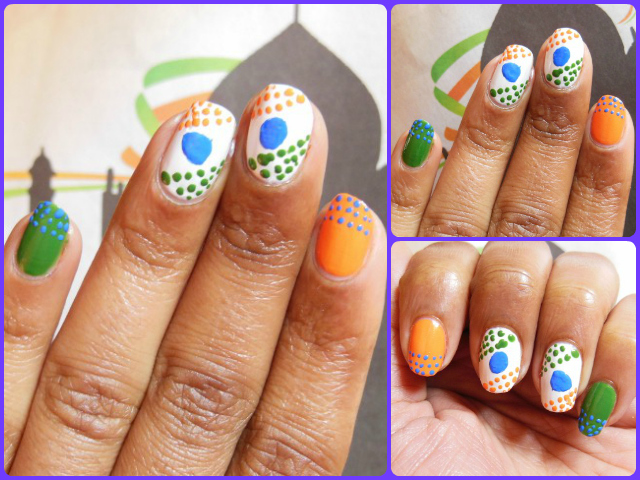 Republic-day-Inspired-Nail-Art