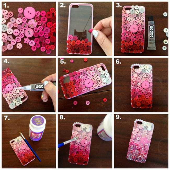 Diy easy mobile phone case decoration ideas step by step for Decorate my photo