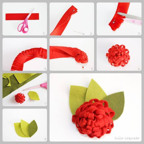 Craft Ideas Step By Step Images