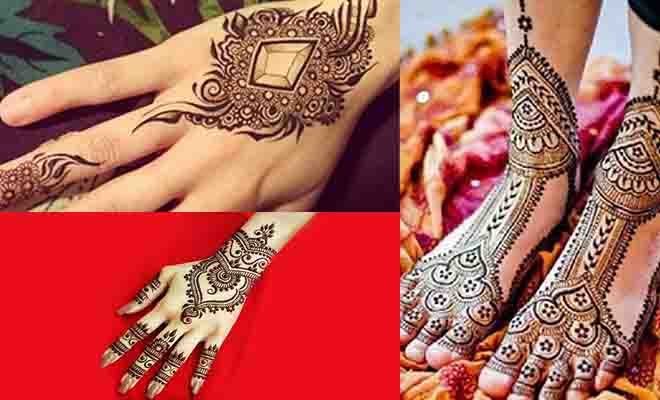 Flower Mehndi Designs For Back Hands : Beautiful arabic mehndi latest designs k craft