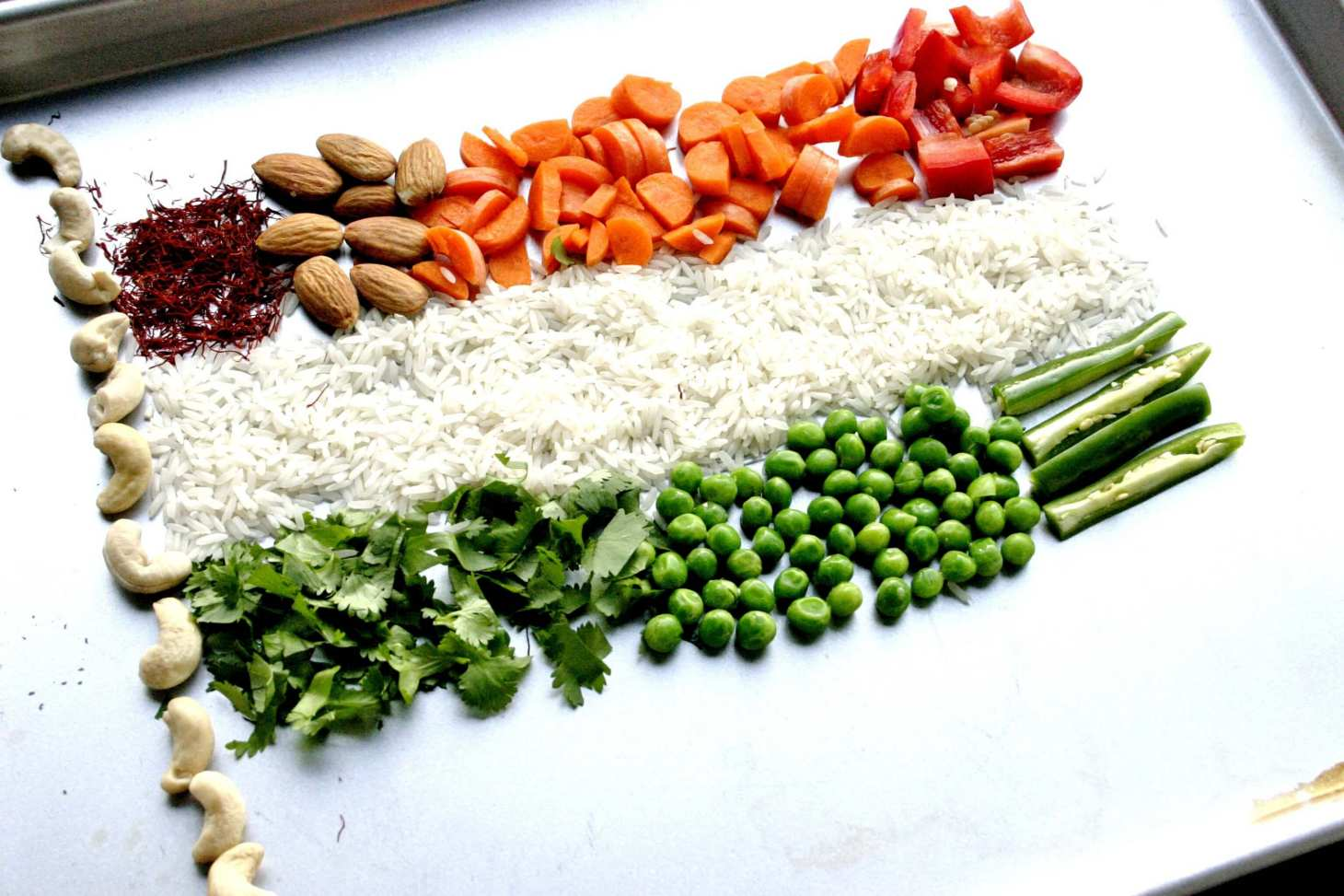 republic day india flag decorated by multi vegetables