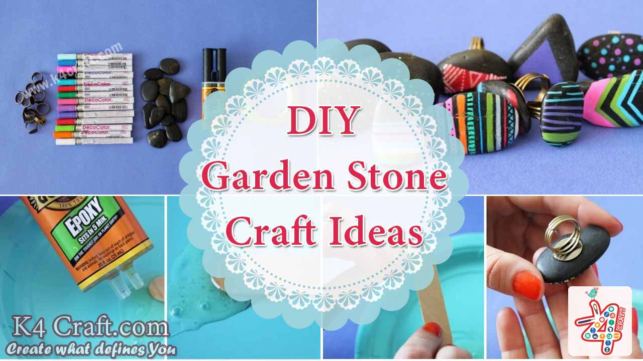 Diy Decorative Stones Gravel Paint Craft Ideas K4 Craft