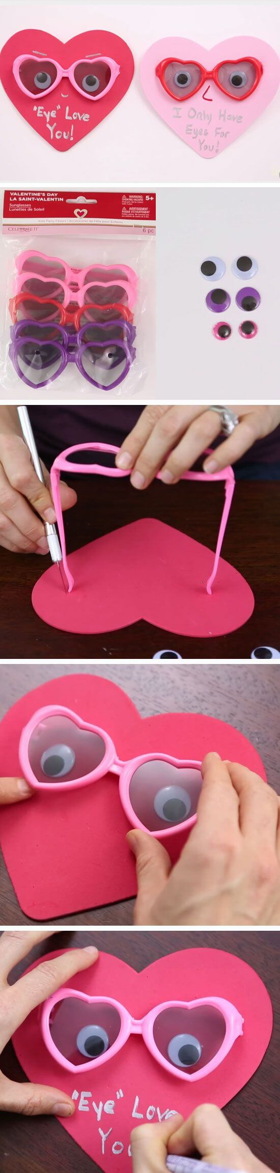 Eye Love You DIY Valentines Crafts for Kids to Make