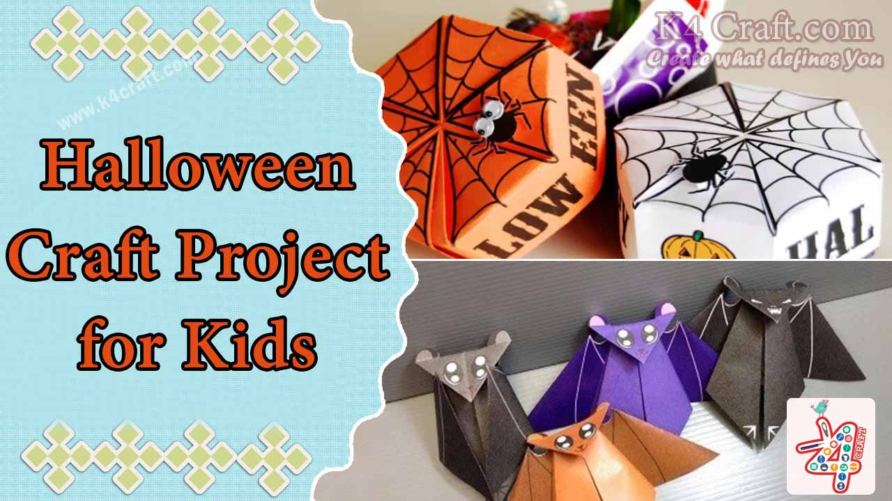 halloween craft project for kids - k4 craft