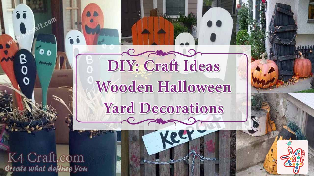 Wooden halloween yard decorations - Wooden Halloween Yard Decorations 16