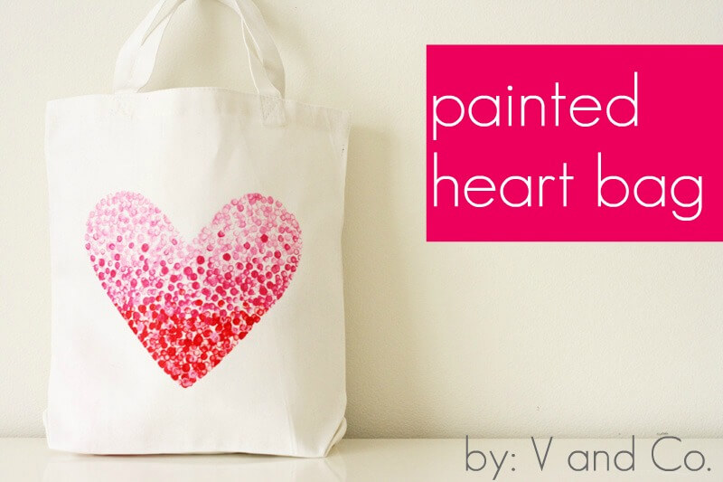 Painted-Heart-Bag