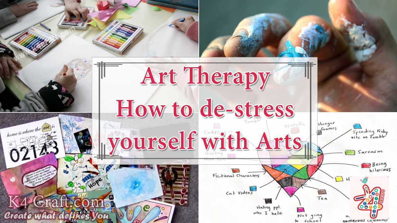 therapeutic arts and crafts ideas therapy how to de stress yourself with amp craft 7240