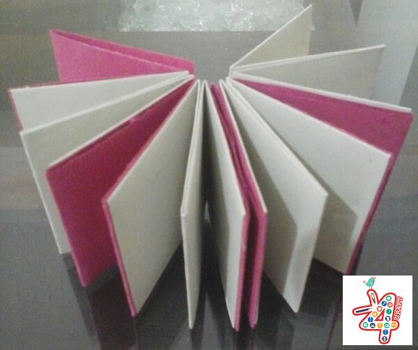 No Glue Paper Book DIY - Red Ted Art - Make crafting with kids ... | 503x600