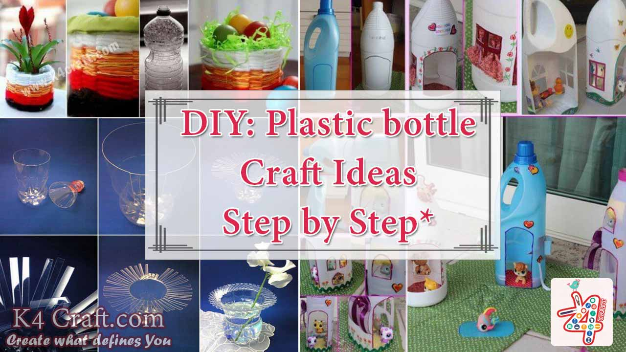 How to make things from plastic bottles k4 craft for Craft using waste bottles