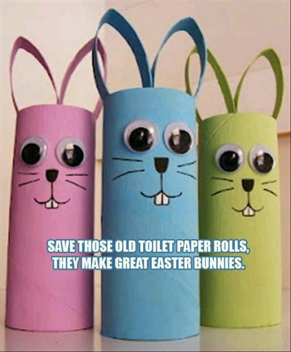 toilet-paper-roll-Easter-bunny