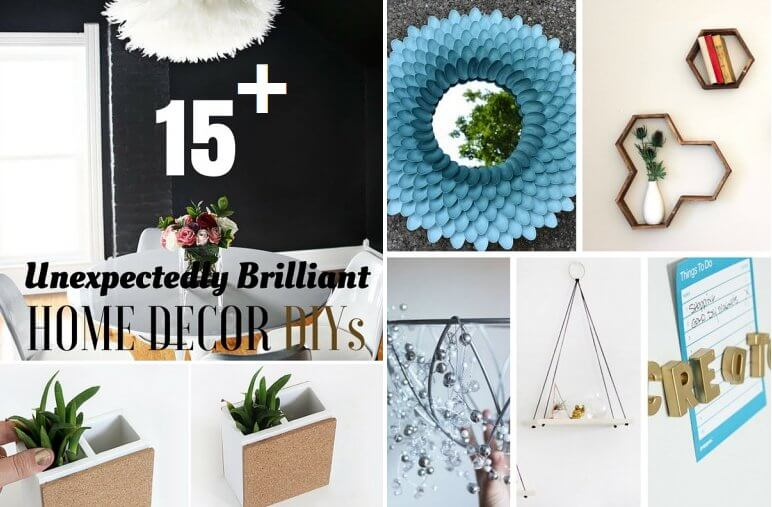 17 Easy DIY Home Decor Crafts Step By