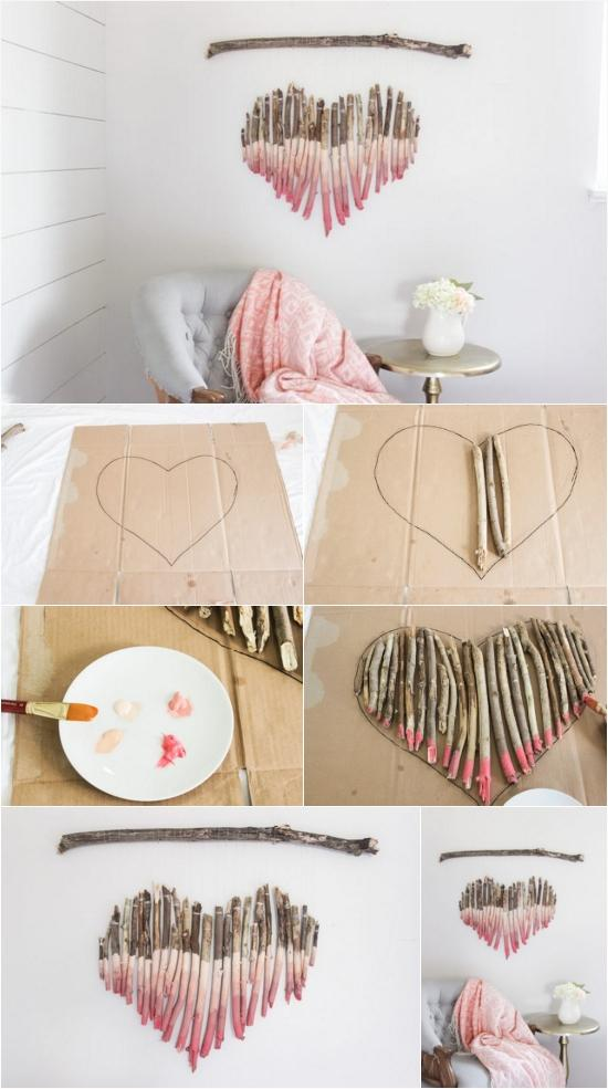 DIY Make An Interesting Art Piece Using Tree Branches