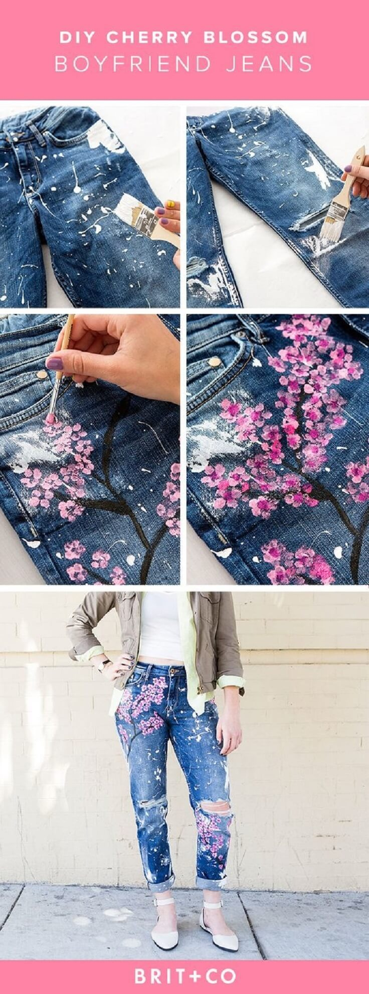 DIY-Blake-LivelyтАЩs-500-Cherry-Blossom-Boyfriend-Jeans-k4craft