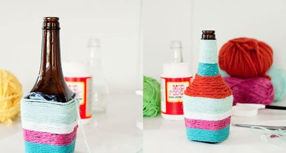 DIY-Cute-Glass-Bottle-Vases-5
