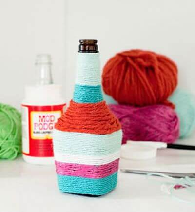 DIY-Cute-Glass-Bottle-Vases-6