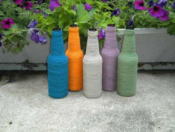 DIY-Cute-Glass-Bottle-Vases-7