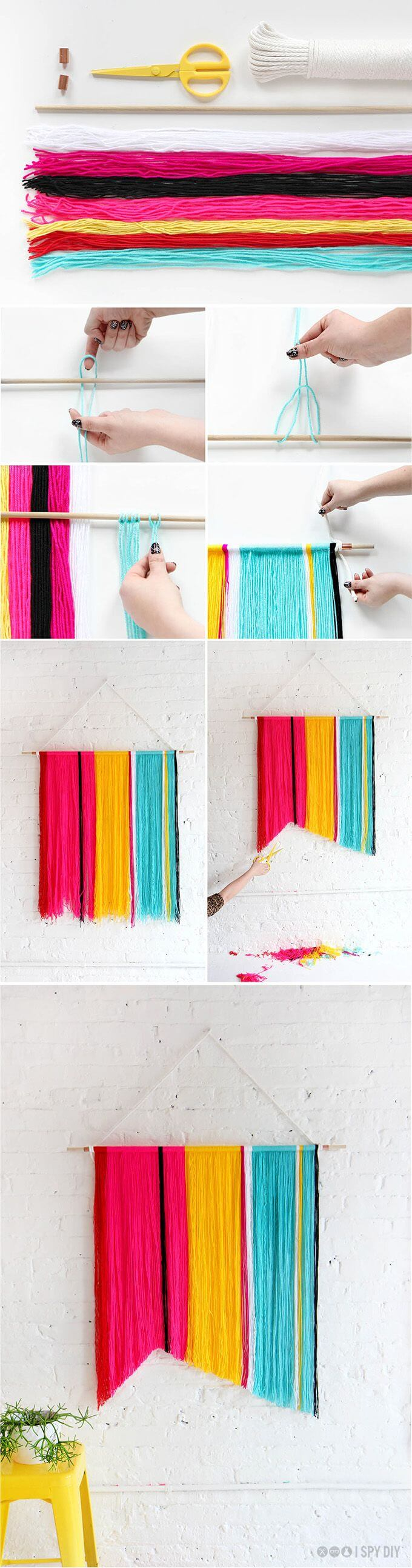 DIY-Yarn-Banner-craft-k4craft