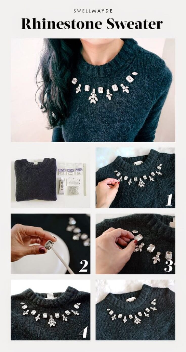 Elegant-Rhinestone-DIY-Sweater-k4craft