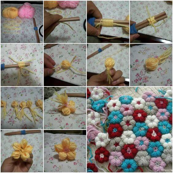 How-to-Knit-pretty-Flowers-step-by-step-k4craft