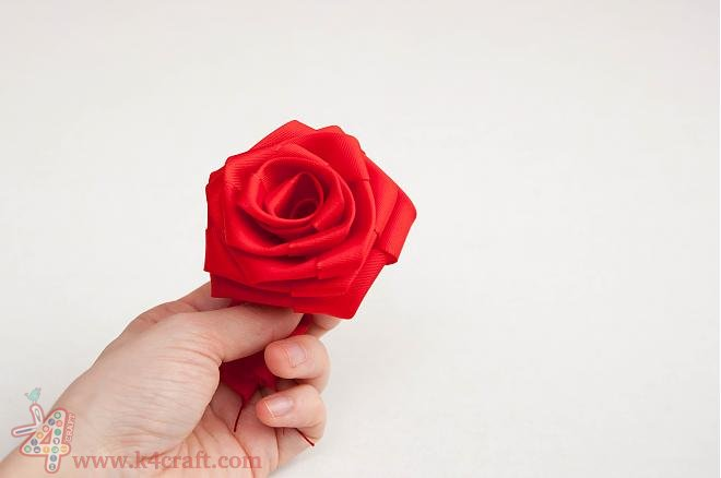 How-to-make-a-ribbon-rosette-k4craft-22