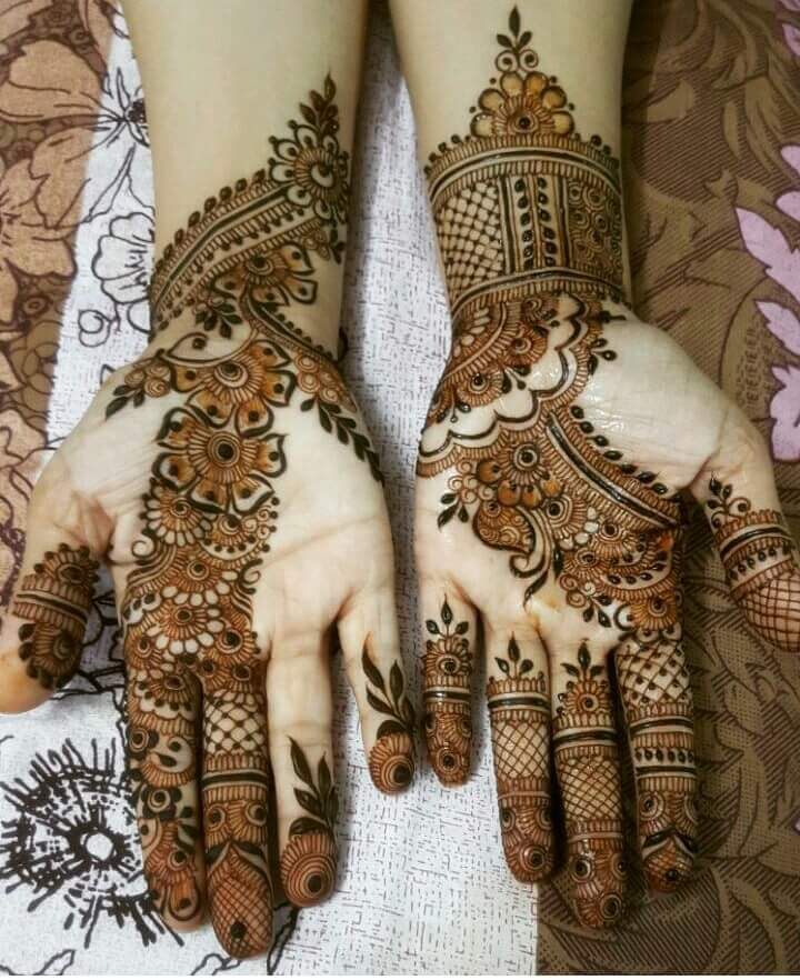 20 Beautiful And Easy Mehndi Designs Page 2 Of 3 K4 Craft