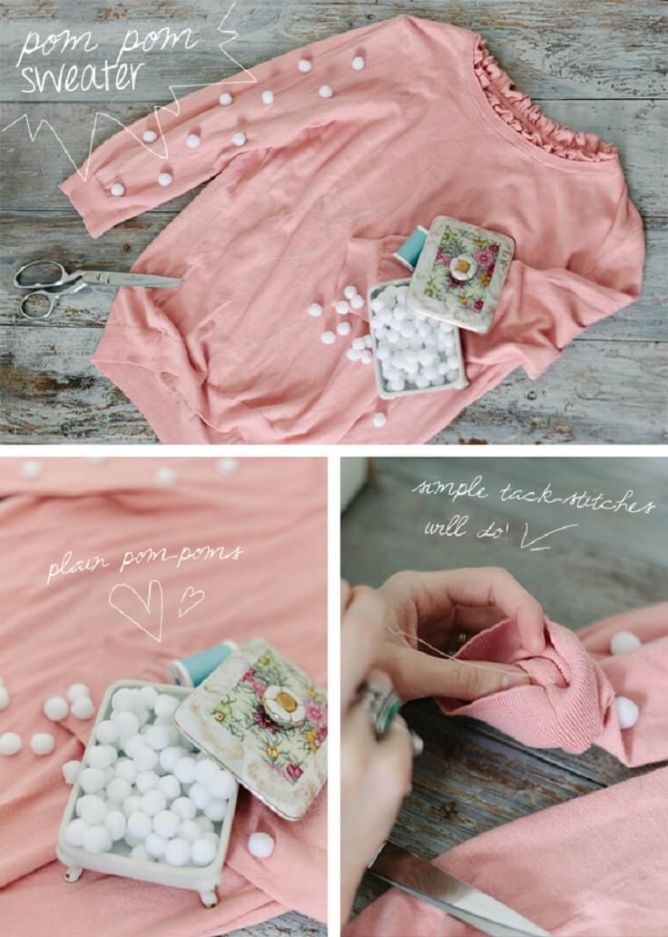 Pom-Pom-DIY-Sweater-Tutorial-k4craft