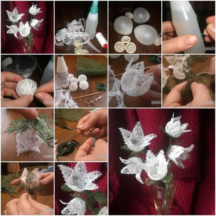 diy-Yarn-Flowers-craft-k4craft