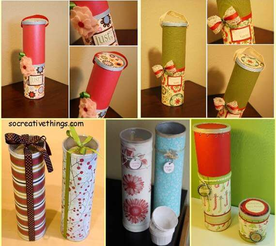 diy-creative-gift-wrapping-ideas-from-olf-Recyclable-Materials