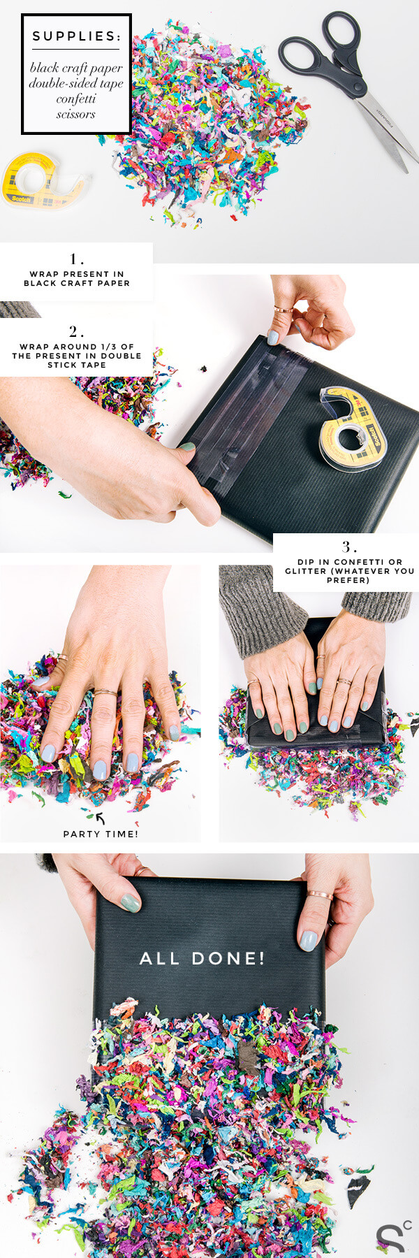 diy-gift-wrapping-with-confetti