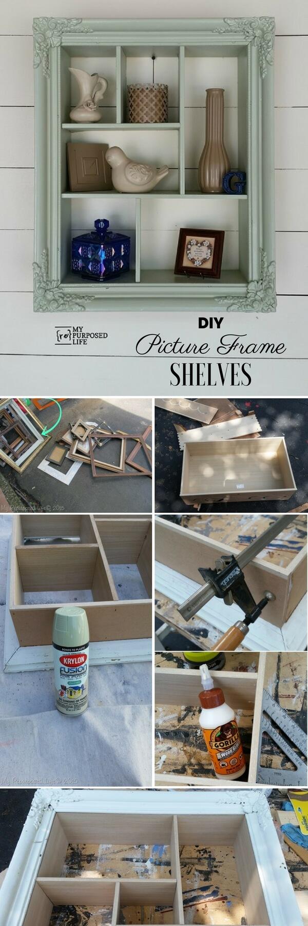 picture-frame-shelves-k4craft