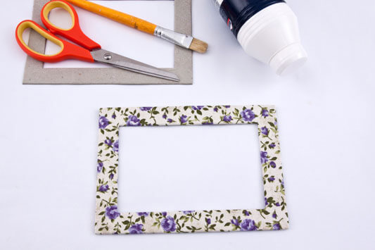 how to make a cardboard photo frame 7 - Diy Cardboard Picture Frame