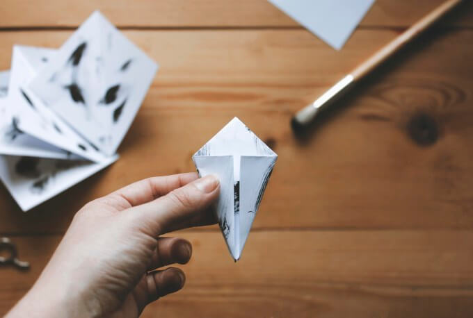 Origami-crane-and-twig-11