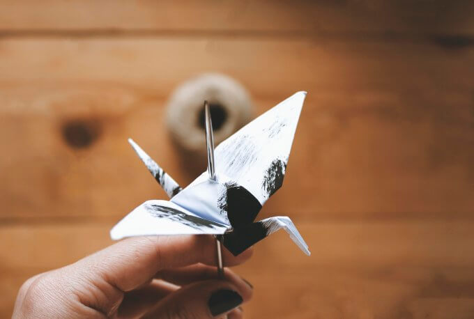 Origami-crane-and-twig-20