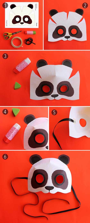 panda-mask-paper-cutout-pattern