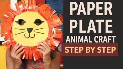 paper-plate-lion