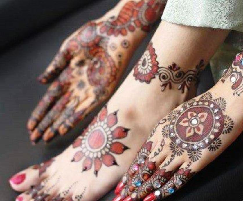 Mehndi Hands Dps : Mehndi design hands cool hand designs stylecry bridal