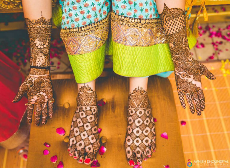 Mehndi Legs Images : Stylish mehndi designs for hand legs k craft