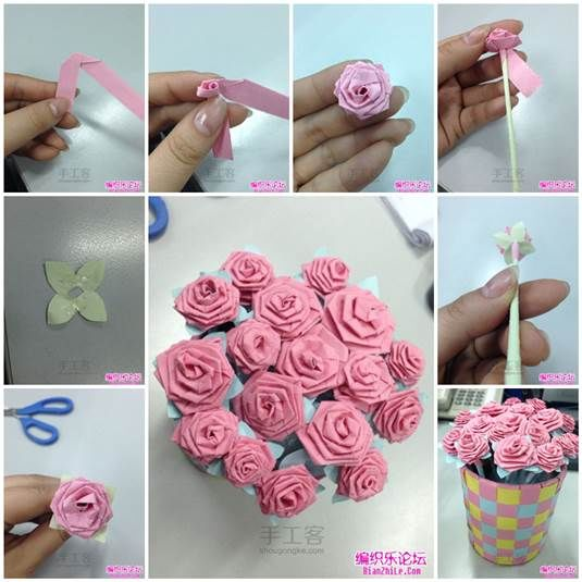 Diy Beautiful Flower Bouquets Step By Step K4 Craft