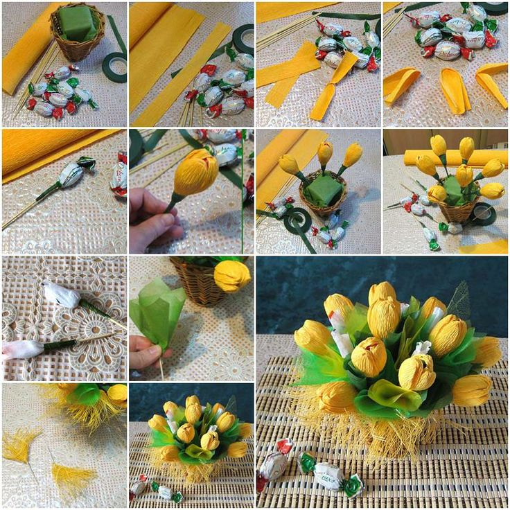 DIY Beautiful Flower Bouquets - Step by step - K4 Craft