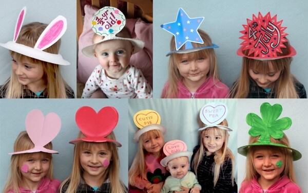 Share  sc 1 st  K4 Craft & DIY Paper Plate Crown | Birthdays Crafts and Kids - K4 Craft