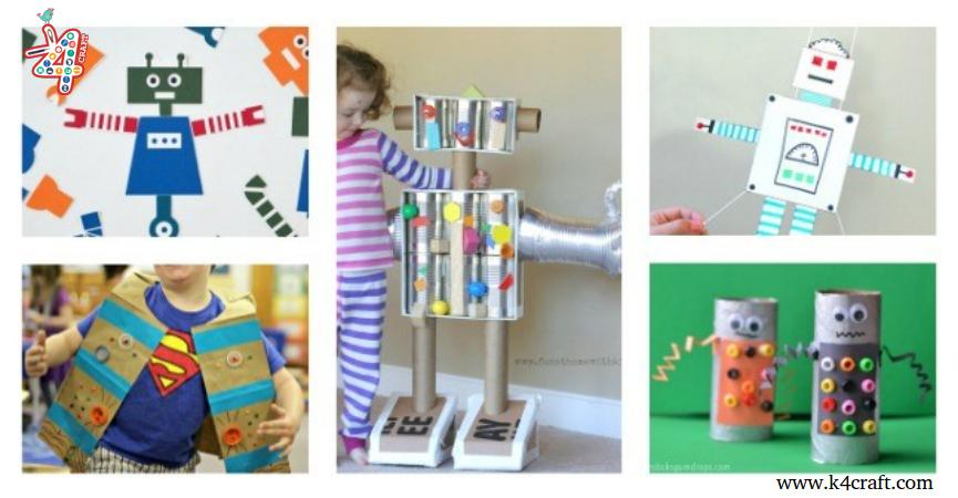20 Best Robot Crafts And Activities For Kids K4 Craft