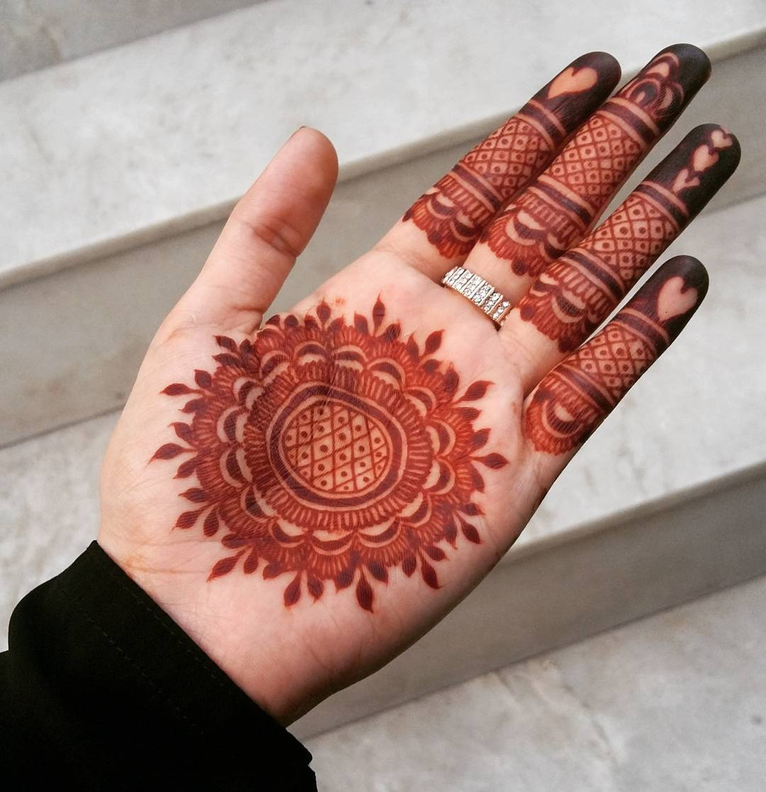 Mehndi Designs Jans : Stylish mehndi designs for durga puja navratri