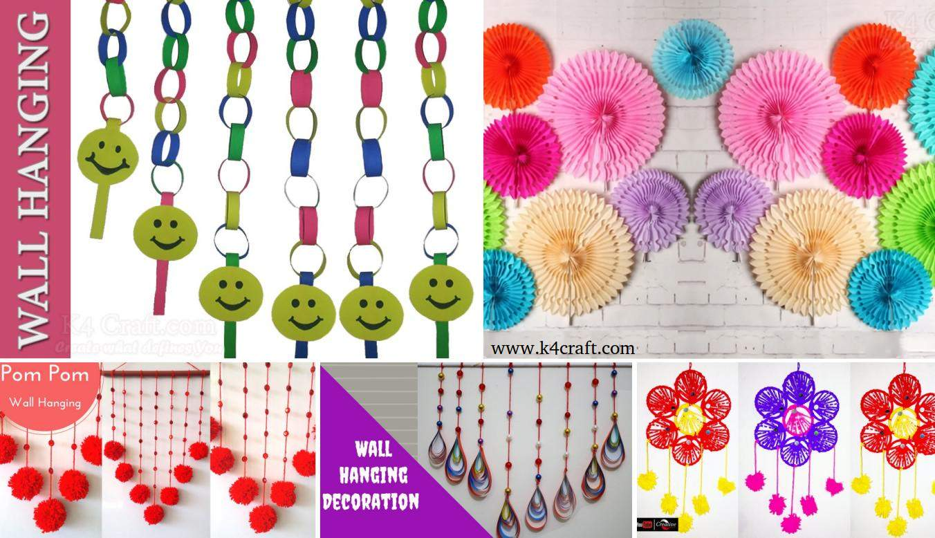 Wall hanging craft ideas craft ideas for wall hanging for Wall hanging craft ideas