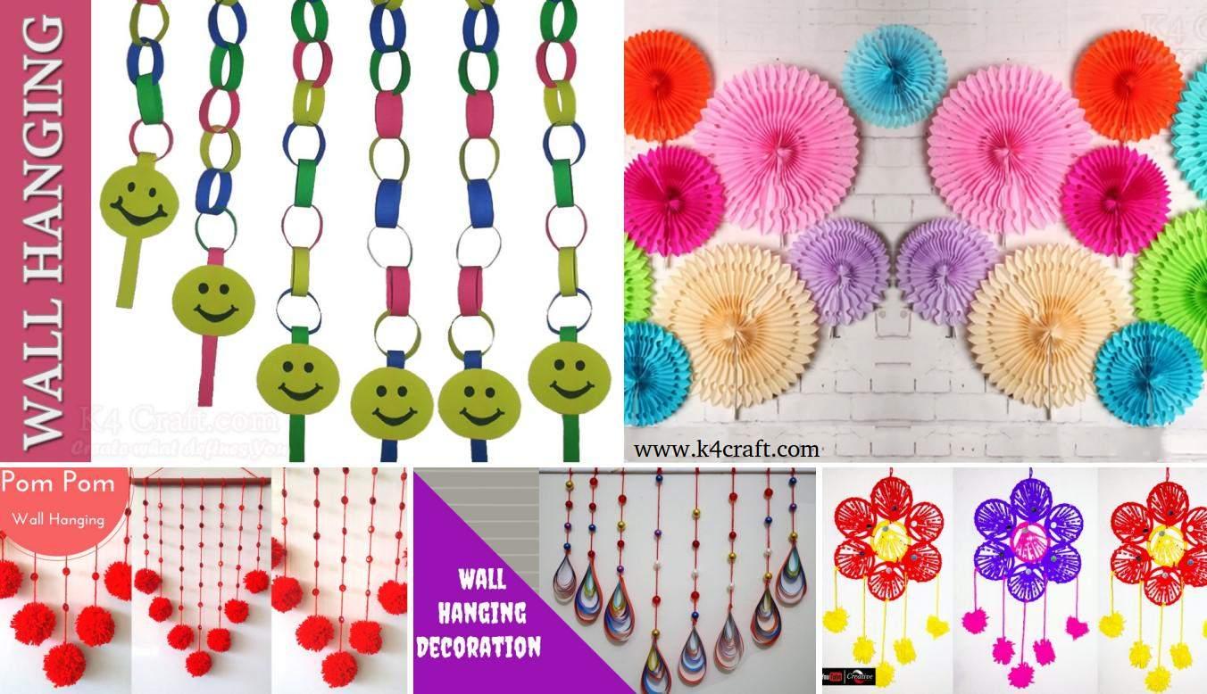 20 diy easy wall hanging craft ideas tutorials k4 craft share285k amipublicfo Gallery