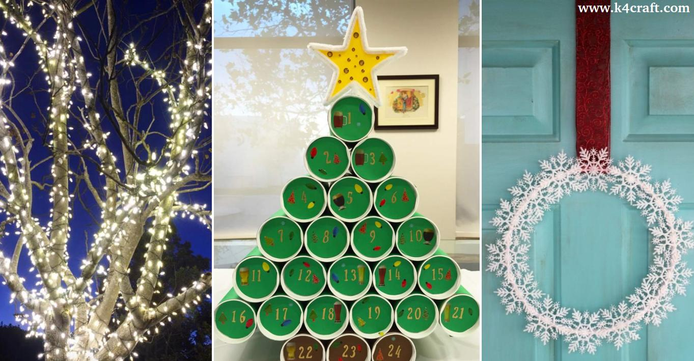 Christmas Decorations To Make Yourself.27 Low Cost Christmas Decorations You Can Make Yourself K4