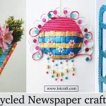 DIY Recycled Newspaper Craft Video Tutorials