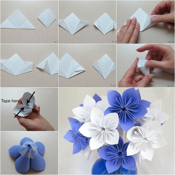 Paper folding flower for kids vatozozdevelopment paper mightylinksfo