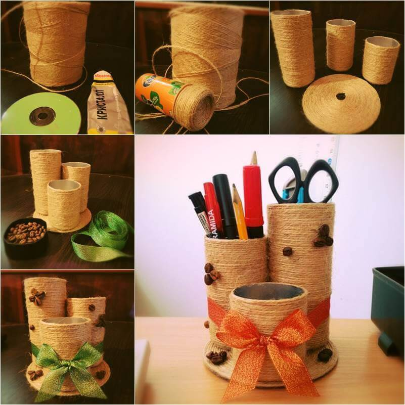 Best out of waste diy creative craft ideas step by step for Craft using waste bottles
