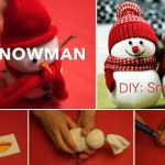 DIY: Snowman Craft tutorial
