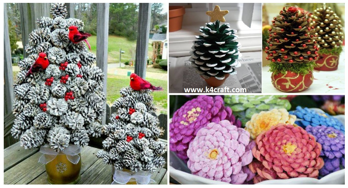 Home k4 craft for Holiday craft ideas with pine cones